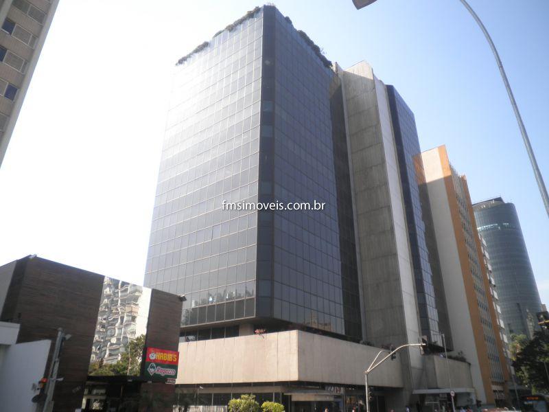 Conjunto Comercial aluguel Faria Lima - Referência cps1573