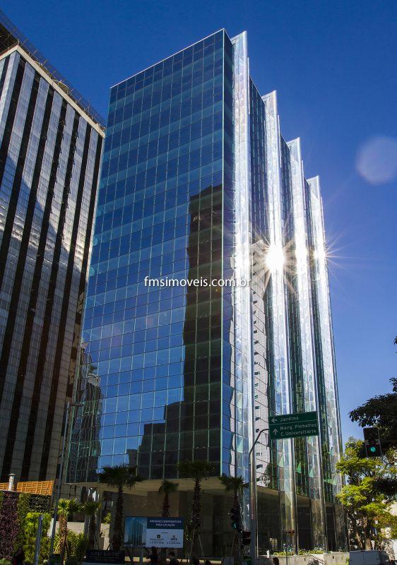 Conjunto Comercial aluguel Faria Lima - Referência cp1183