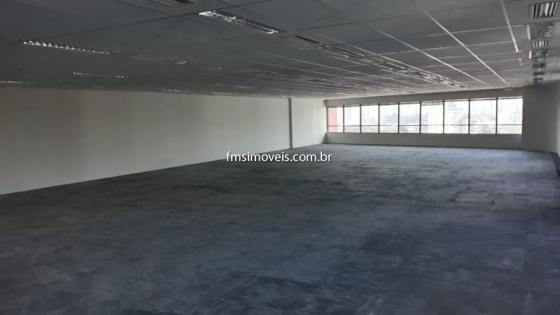 Conjunto Comercial aluguel Berrini - Referência cps1225