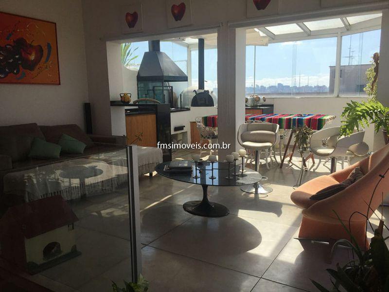 Cobertura Duplex aluguel Vila Clementino - Referência 12-paulista