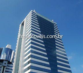 Conjunto Comercial aluguel Cidade Monções - Referência cps2459